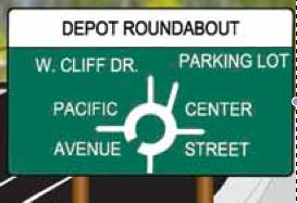 Depot roundabout